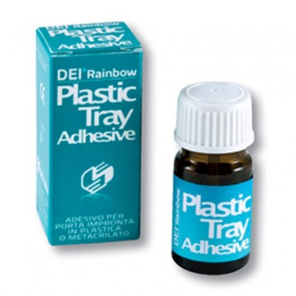 DEI® Rainbow Plastic Tray Adhesive