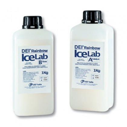 DEI® Rainbow Ice Lab Super Transparent (Base + Catalizador)